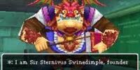 Sir Sternivus Swinedimple