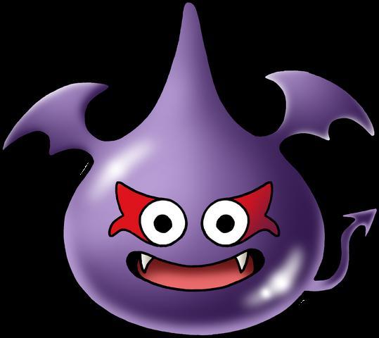 File:DQMJ - Dark slime.png
