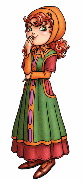 DQVII3DS - Maribel