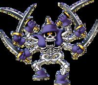 DQIII - Skeleton swordsman