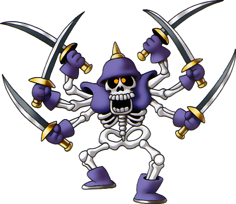 File:DQIII - Skeleton swordsman.png