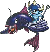 File:DQ25th - FishRider.png