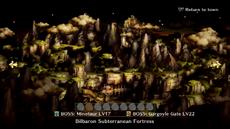 Bilbaron Subterranean Fortress selection screen