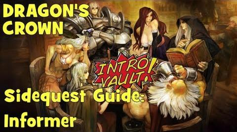 Dragons Crown - Sidequest Guide Informer