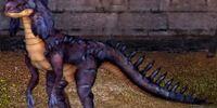 Frilled Duskstrider Dragon