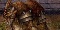 Horned Bristleback Dragon