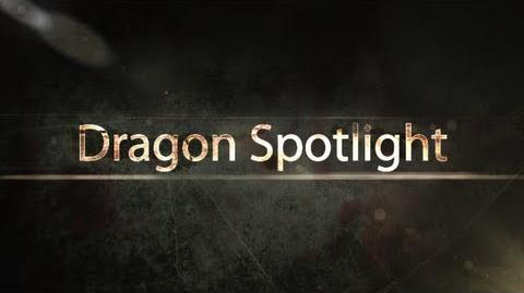 Dragon Spotlight 11 - Indigo Flare