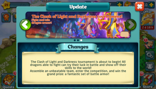 Tournament XLIII Update