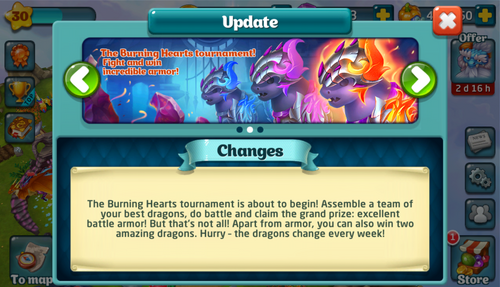 Tournament LXXXIV Update