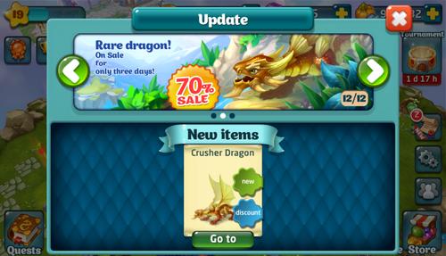 Crusher Dragon Update2