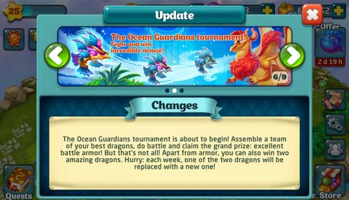 Tournament LXII Update