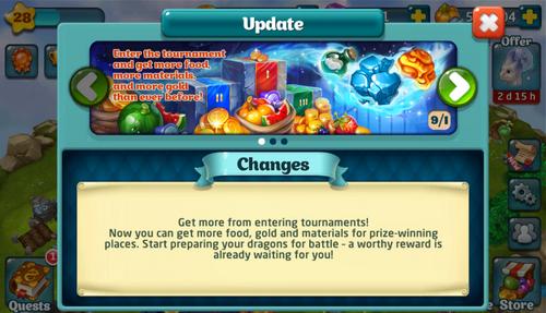 TournamentRewardUpdate