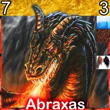 Creature DragonFire Abraxas