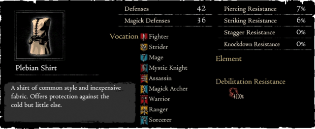 Dragonforged Plebian Shirt