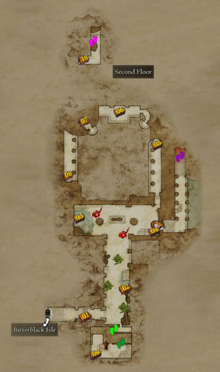 Map Garden of Ignominy 2nd floor.png