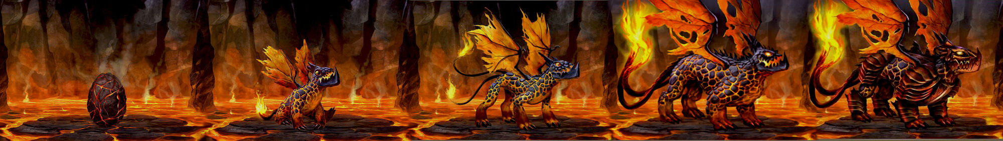 dragons of atlantis fire dragon