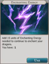 Enchanting Energy Info icon
