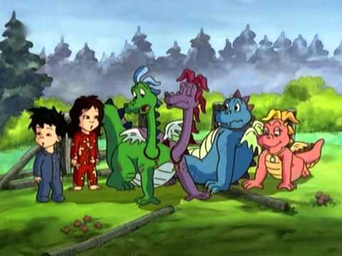 Group Of Dragon Tales Zak And