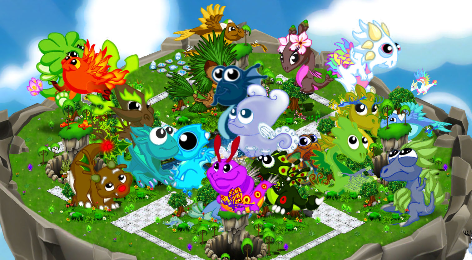 user blog cartoondan123 huge baby dragons updated dragonvale