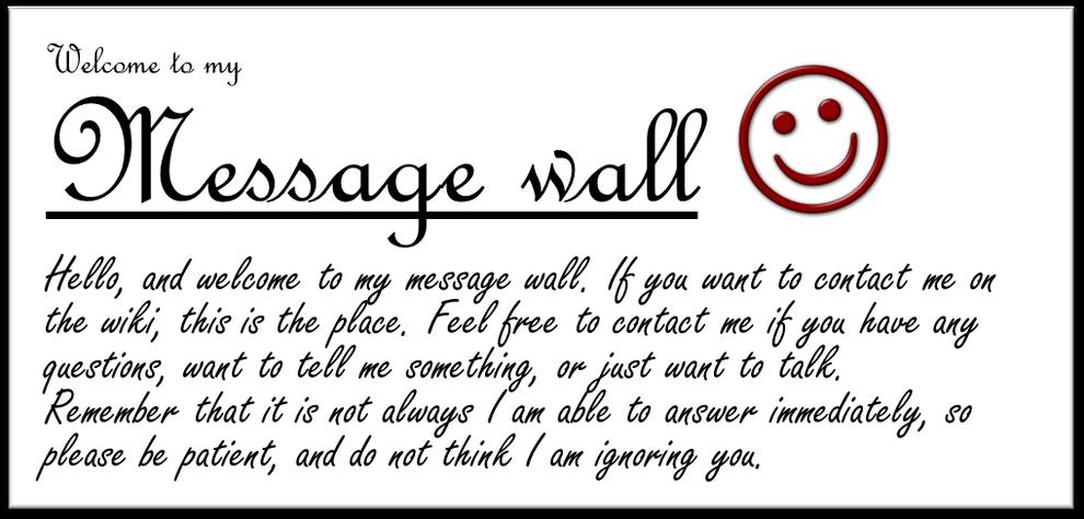 MessageWallGreeting NemiS