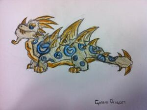 Golem Dragon
