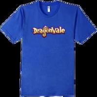 DragonValeT-Shirt-DragonValeLogo - Royal Blue