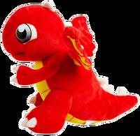 DragonValePlushToy-FireDragon-Side