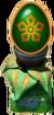 Iron Blossom Pedestal