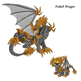 Robot Dragon