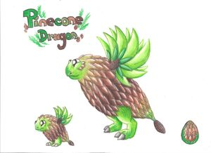 Pinecone Dragon