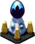 Midnight Pedestal