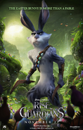 E. Aster Bunnymund - promotional poster