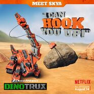 Skya's I Can Hook You Up poster