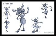 Rocky and Bullwinkle Short Concept Art 14