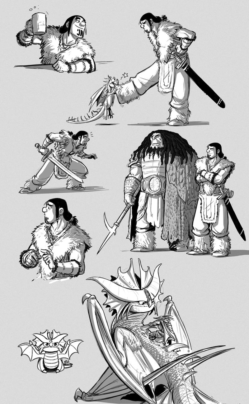Drago Bludvist Concept Art