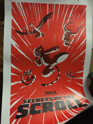 Secrets of the Scoll concept poster