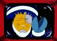 Dr.mashirto black suit santa
