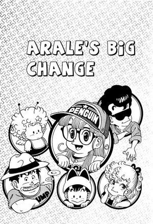 Arale's big change