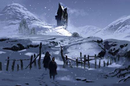 Snowy shrieking shack