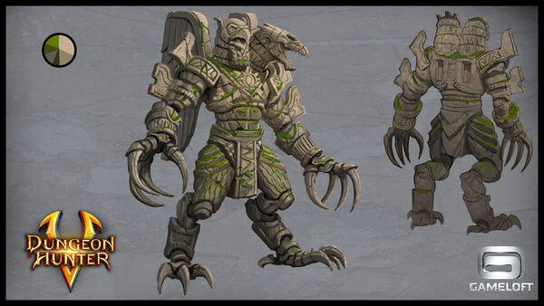 Concept arts bosses guardians