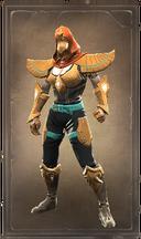 Blazing avatar of the sun