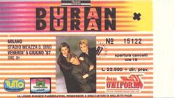 Milano stadio meazza s siro 1987 duran duran tour italy italia