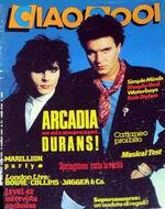 Duran Duran ARCADIA ciao 2001 magazine italy wikipedia lesa woolley birmingham