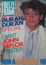 1 Freeze Frame August 1985 Duran Duran MAGAZINE WIKIPEDIA 1