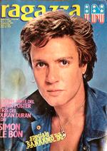 RAGAZZA IN - N.7 FEBBRAIO 1985 - POSTER SIMON LE BON DURAN duran wikipedia magazine