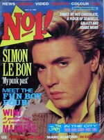 DURAN DURAN NO.1 MAGAZINE MAY 14 1983 SIMON LE BON wikipedia