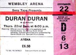 Ticket-wembley-arena-22-12-84