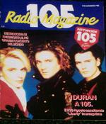 105 radio magazine italy duran duran