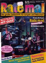 Rate mal (Germany) April 1985 (1)