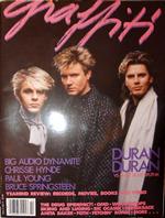 US GRAFFITI magazine vol 3 no 2 1986 Duran Duran